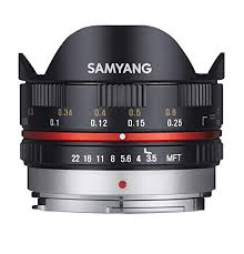 Samyang 7.5mm F3.5 UMC Fish-eye MFT für Micro Four Third